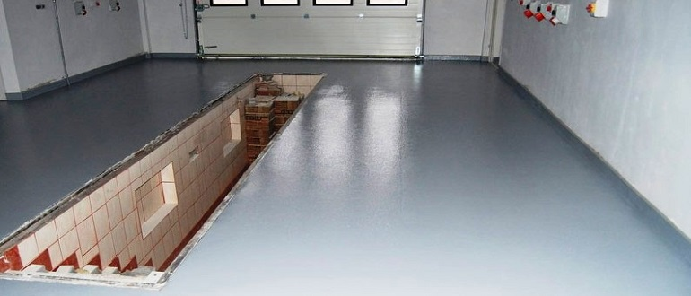 как окрашивать бетон